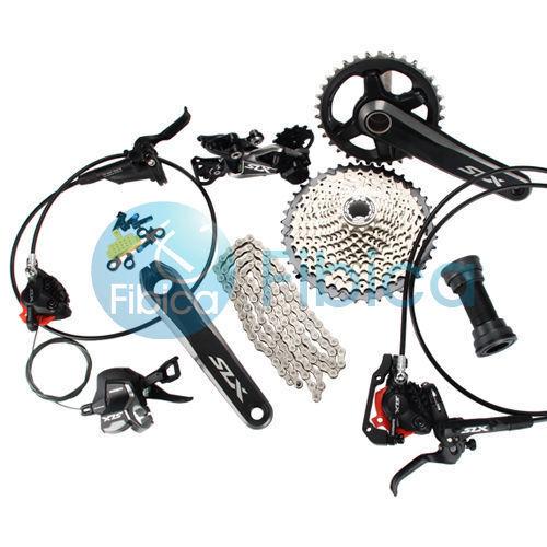 nuovo Shiuomoo SLX M7000 11speed MTB Hydraulic Brake Groupset Group set