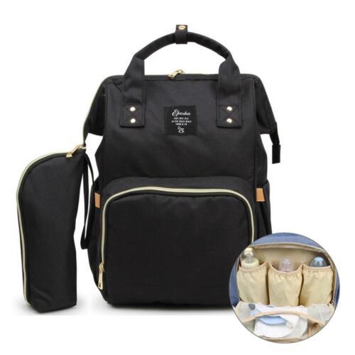 2Pcs Set Large Capacity Mummy Bag Baby Maternity Nappy Diaper Travel Backpack UK