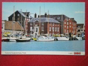 POSTCARD-DORSET-POOLE-CUSTOMS-HOUSE-amp-QUAY-C1985