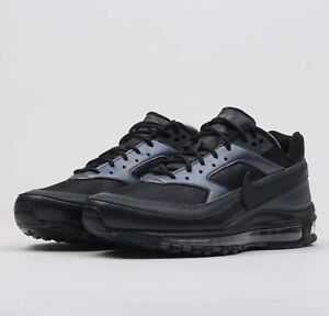 best service 5d338 3aa8a Image is loading Nike-Air-Max-97-BW-Black-AO2406-001-