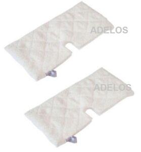 Shark-Lift-Away-Professional-Steam-Pocket-Mop-S3901-Microfibre-Mop-Pads-2-Pack
