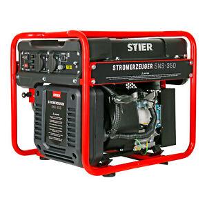 STIER-Stromerzeuger-SNS-350-Generator-10l-Inverter-Stromaggregat-max-3500-W
