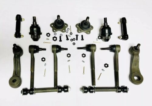 14pc Complete Front Suspension Kit for Chevrolet Trucks 4x4 4WD