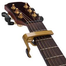 2pcs Neewer Golden Zinc Alloy Single-handed Quick Change 6-string Guitar Capo