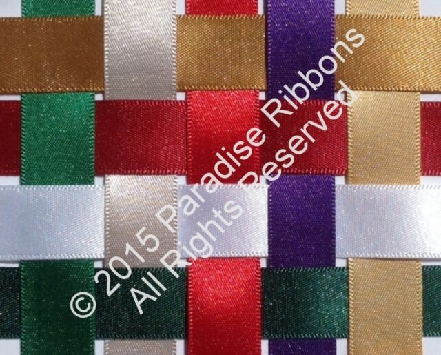 Berisfords Satin Ribbon - 'Perfect Partners Collection' - Winter Colours