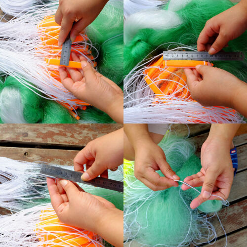 260/' x 9 4//5/' 3 layers Fishing Nets Fish Gill Net with Float Fish Trap