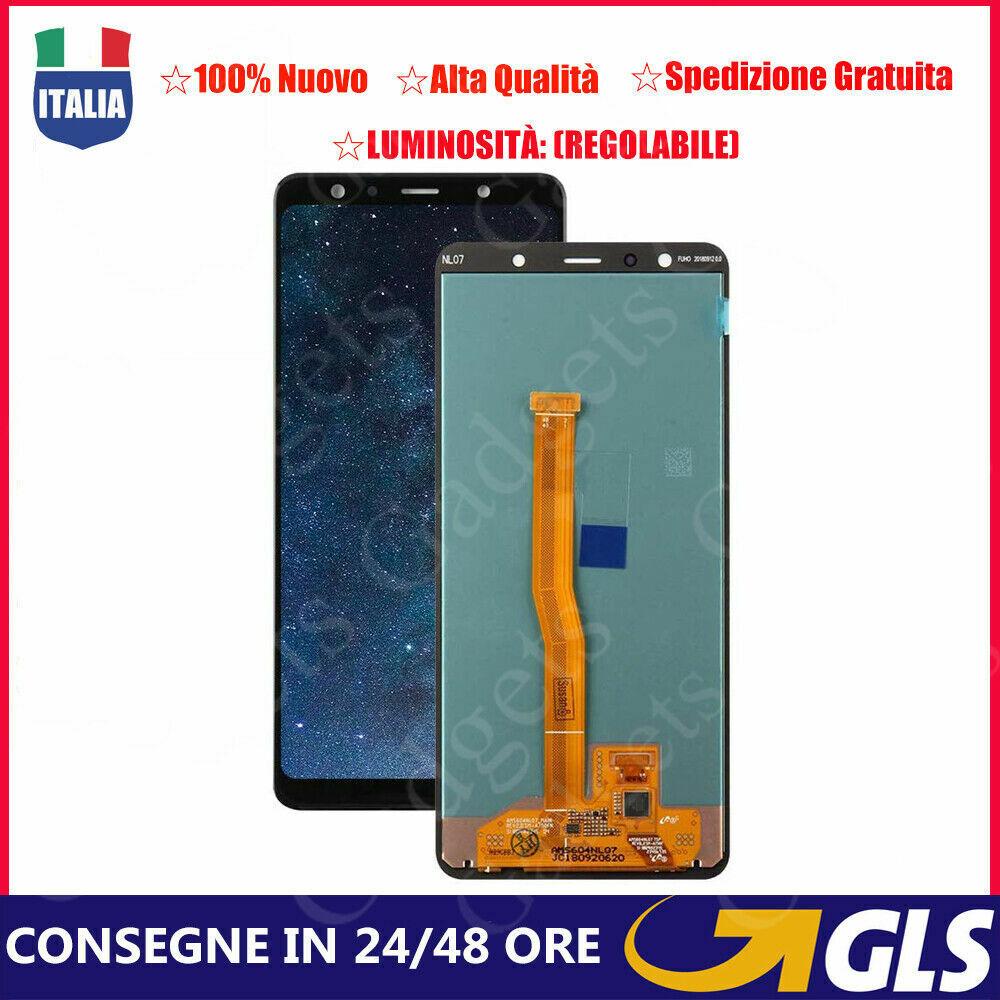 Samsung Galaxy: Touch Screen Vetro Schermo Per Samsung Galaxy A7 2018 SM-A750FN LCD Display