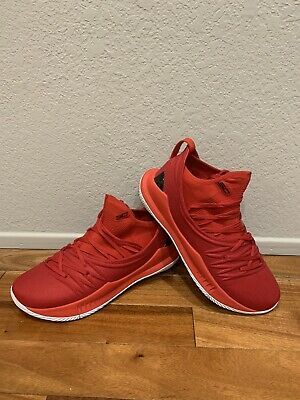 Under Armour Curry 5 Low Red | eBay