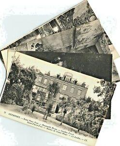 Guernsey St Peter Port By Levy D'Hauteville House Victor Hugo Set 16 Postcards