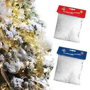 Diy Fake Snow Powder Artificial Simulation Snowflake Christmas Tree