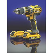 DEWALT DCD795D2-GB 18V 2.0AH LI-ION Xr Cordless Combi Drill Brushless Motor