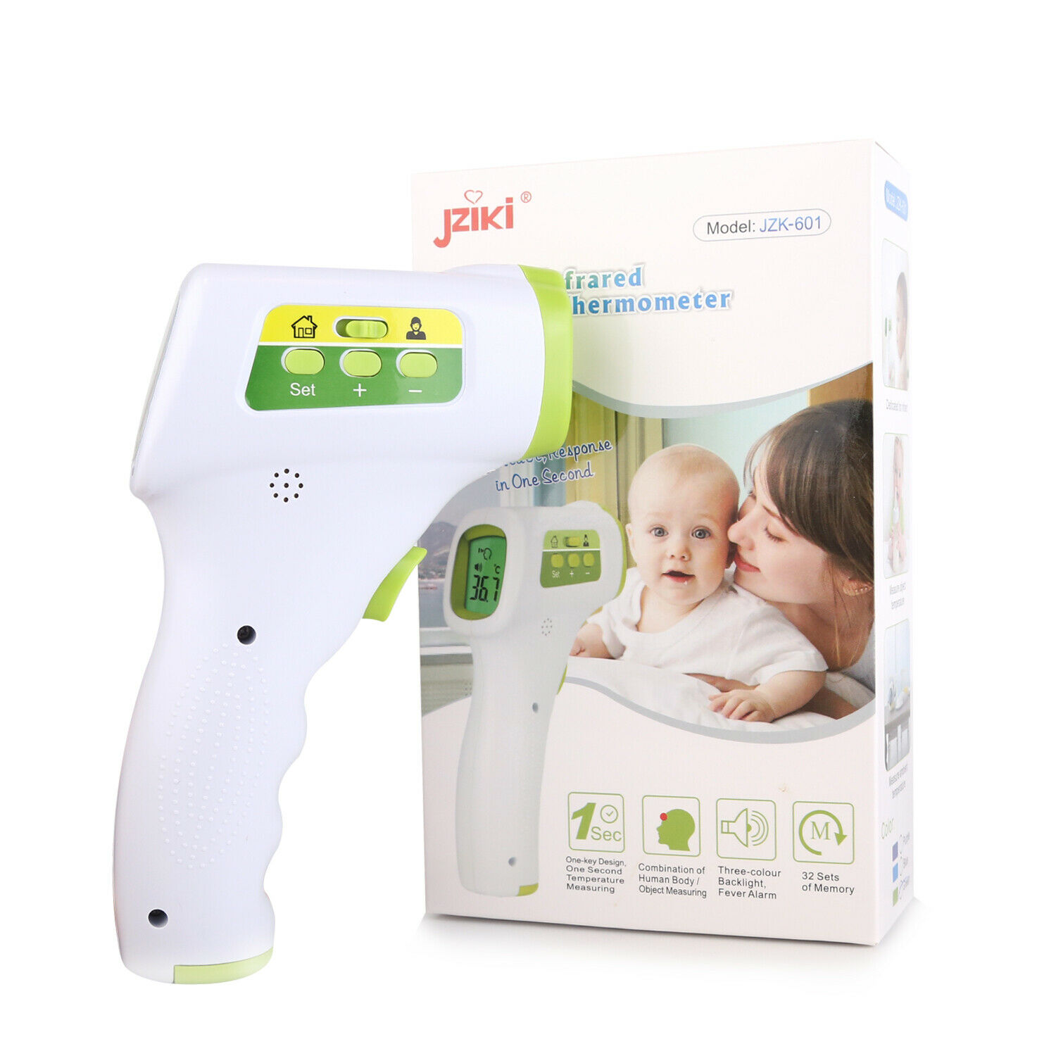 Baby Kids Forehead Body Thermometer Digital IR Infrared Termometer Non-Contact 3