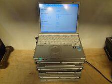 LOT OF 6 Panasonic Toughbook CF-T8 CORE 2 DUO 1.6 / 1.06 CF-T7 CF-W7 ( READ )