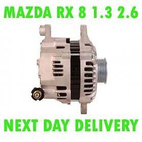 Mazda-Rx-8-1-3-2-6-2003-2004-2005-2006-2007-2008-gt-2012-Alternador-Remanufactured