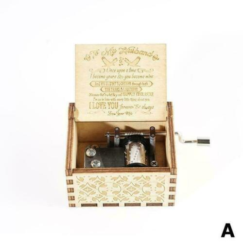 WIFE TO HUSBAND TO SON Daughter GIFT YOU ARE MY SUNSHINE Engraved Box Music U2O0
