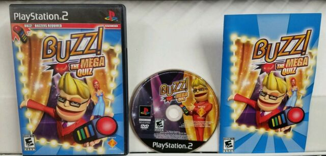 BUZZ MASTER QUIZ - PSP Game - Complete - FAST SHIPPING!