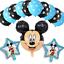 DISNEY-Mickey-Mouse-Compleanno-Palloncini-Stagnola-Lattice-Party-Decorazioni-di-genere-rivelare miniatura 8