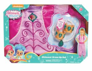 Shimmer-and-Shine-Boxed-Shimmer-Dress-Up-Role-Play-Set-BNIB-Damaged-Packaging