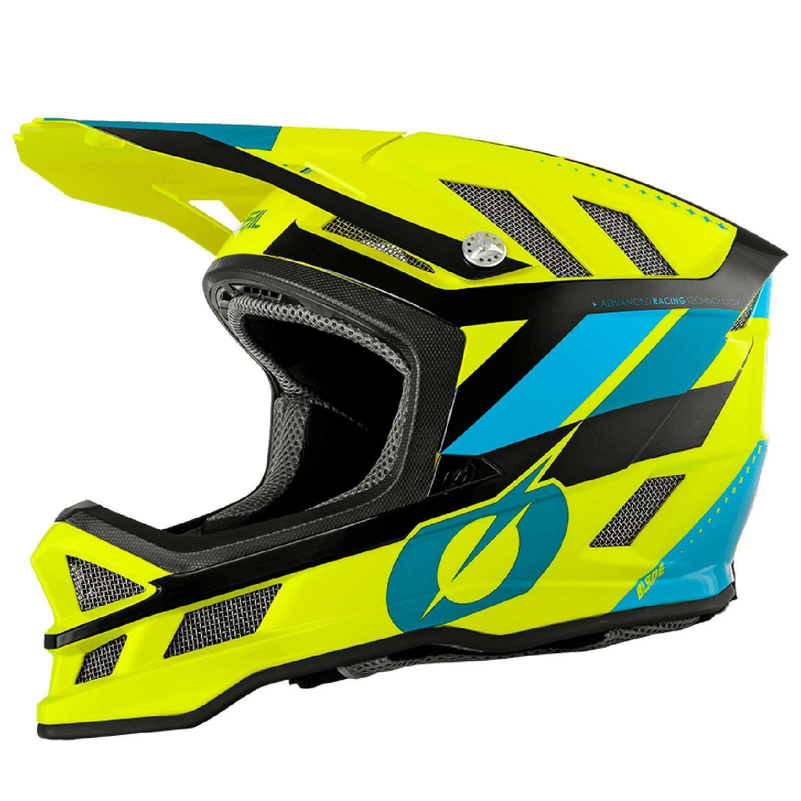 ONEAL Blade Synapse  IPX Bicycle Helmet Neon Yellow All Mountain Bike MTB Downhill  hot limited edition