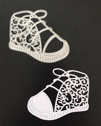 Zapato Bota De Bebé De Metal Manualidades DIE Cutter