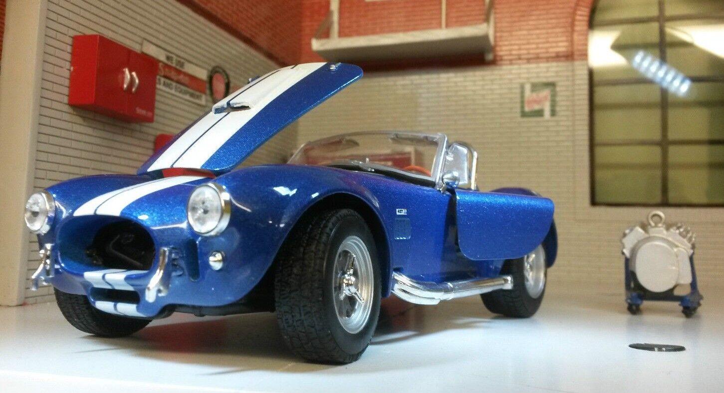 G LGB 1 24 Maßstab 1965 Shelby AC Cobra 427 SC v detaillierte Welly  | Überlegen