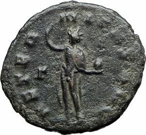 GALLIENUS-son-of-Valerian-I-267AD-Authentic-Ancient-Roman-Coin-Sol-Sun-i80012