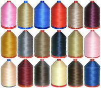 STRONG BONDED NYLON THREAD 60'S 1000MTRS OXLEY THREADS, UPHOLSTERY, VARIOUS COLS