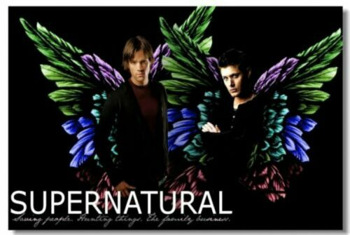 Poster Supernatural New Season 9 8 7 Room Club Art Wall Cloth Print  215