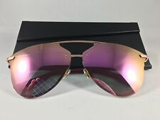 Christian Dior Reflected P S6DRR Gold Pink Prism 100% UV Mirrored Sunglasses