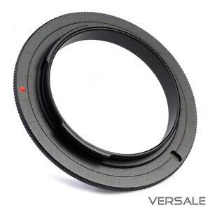 migliore in arrivo check-out Dettagli su 58mm Macro Anello di inversione per Canon EOS RETROADAPTER  obiettivo della fotocamera Adattatore Macro- mostra il titolo originale