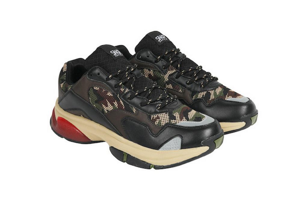 hot sale online 4f383 e3e7e ... SNKR Project Uomo Park Avenue scarpe scarpe scarpe da ginnastica Olive  Camo rosso 1807 2355bf ...