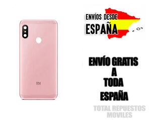 Tapa trasera para Xiaomi Redmi Note 6 Pro Color Rosa ORIGINAL