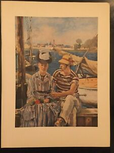 Edouard Manet Prints from 1950s publication 'Manet' by Beaverbrook Newspapers