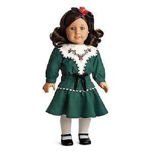 Christmas Green Dress.Details About American Girl Ruthie Holiday Dress Christmas Green Tights Hair Ribbon No Doll