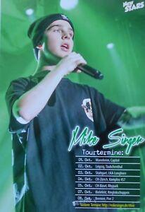 MIKE-SINGER-Star-Card-Foto-Karte-Mini-Poster-Deja-Vu-Clippings-Sammlung-NEU
