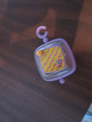 Vintage Little Fisher Price charm necklace clip smugglar Smooshees Smooshies p