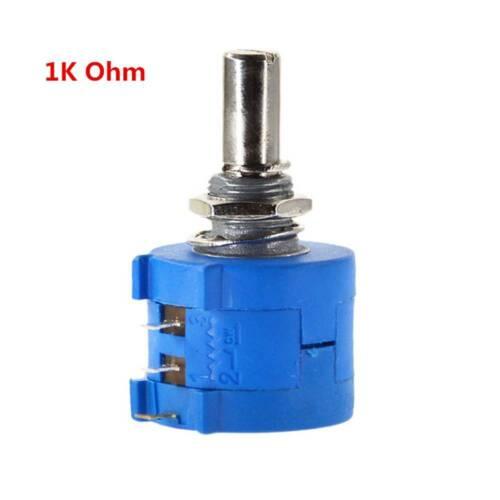 3590S 50K 100K Ohm Precision Multiturn Potentiometer Resistor Adjustable≈