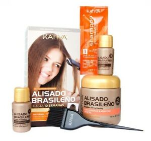 Kativa Keratin Behandlung Set Haarglättung Ebay