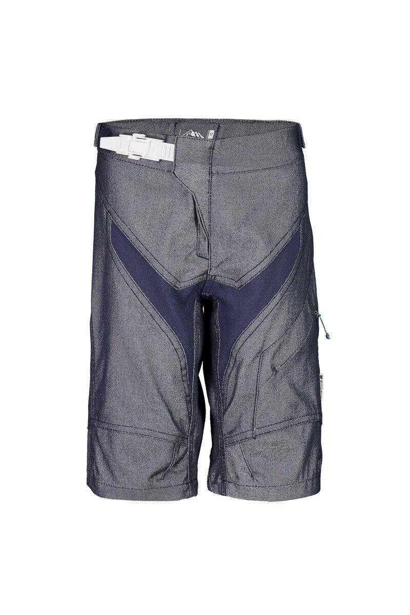 Maloja Freeride Corto Pantalones de Bicicleta Ruetu. blue Oscuro Impermeable