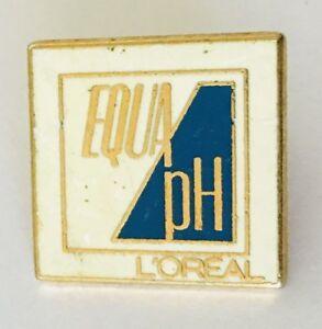 Equa-pH-Loreal-Cosmetics-Brand-Pin-Badge-Advertising-Vintage-C3