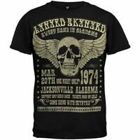 Lynyrd Skynyrd Alabama 1974 Music Rock Band Skull Wing Adult T Tee Shirt LS124