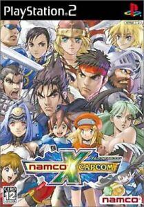 PlayStation-2-Namco-x-Capcom-JP-Japan-import-game-BANDAI-SLPS25158