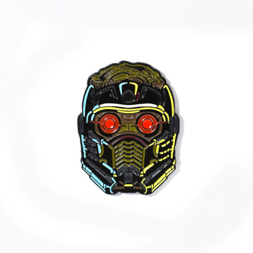 Star-Lord Peter Quill Mask Pin