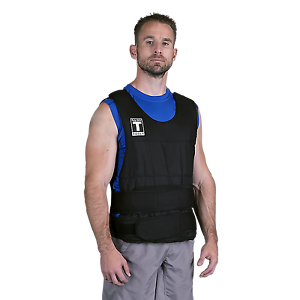 Weighted Vest - 40 lbs. - Body-Solid Adjustable 2-40 lbs. BSTWV40