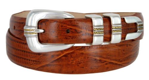 "Gold Norris Mens Italian Calfskin Leather Designer Dress Belt 1-1//8/"" Wide"