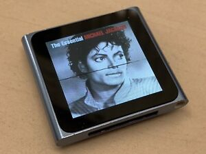 Apple Ipod Nano 6th Generation Blue Working With Screen Line Issue Ebay
