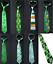 Patrick/'s Day Tie Souvenir Flag Tricolour Shamrock Irish Ireland Event Men St