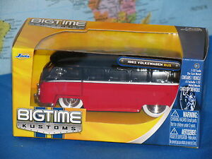 1-32-JADA-BIGTIME-KUSTOMS-VW-1962-VOLKSWAGEN-BUS-DIECAST-METAL-BRAND-NEW-amp-RARE