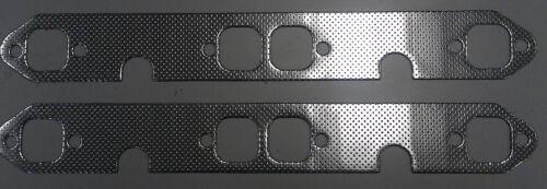 Chev Small Block 283-400ci V8 Header Pair Manifold Steel Gasket Extractor