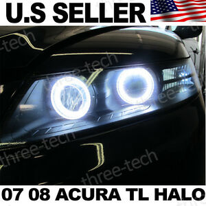 Image Is Loading 07 08 Acura Tl S Halo Rings